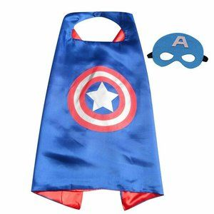 Other - Brand New Captain America Boys Cape/Mask Costume